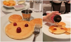 mickey pancakes