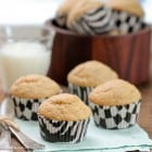 Malted Banana Bread Biscoff Muffins