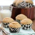 Malted Banana Bread Biscoff Muffins