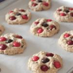 Image of Cinnamon M&M Oatmeal Chocolate Chip Cookies