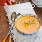 Simple Creamy Carrot Soup