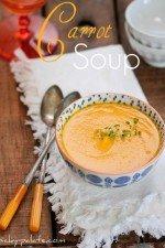 Simple Creamy Carrot Soup