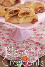 Biscoff Marshmallow Crescents