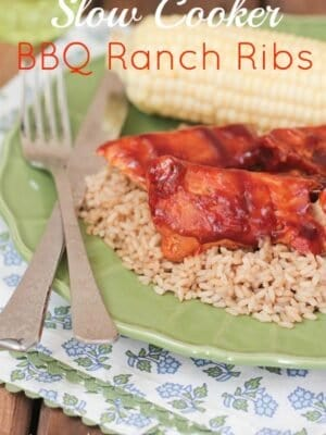 Image of Slow Cooker BBQ Ranch Country Ribs