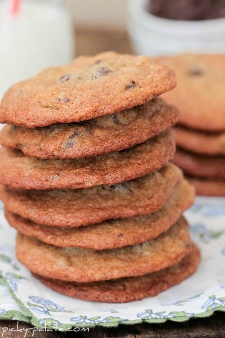 Pioneer Woman Malted Chocolate Chip Cookies