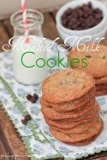 Pioneer Woman's Malted Milk Chocolate Chip Cookies