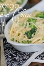 Stovetop Broccoli and Cheese Chicken Pasta