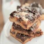 Image of Girl Scout Cookie Thin Mint Cake Bars