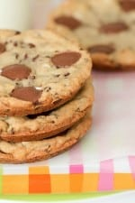 Image of Giant Peanut Butter Cup Marshmallow Cookies