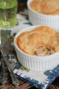Gruyere Ham Mac and Cheese Pot Pies 1