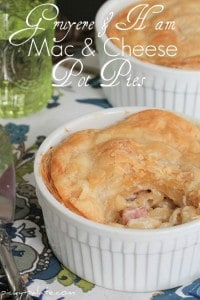 Gruyere Ham Mac and Cheese Pot Pies 2