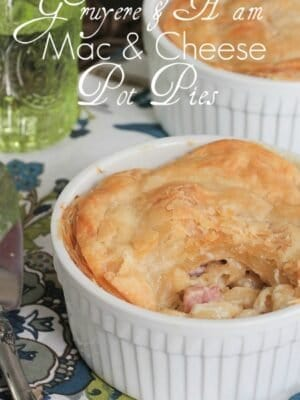 Image of Gruyere & Ham Mac and Cheese Pot Pies