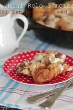 Rolo S'mores Skillet Monkey Bread