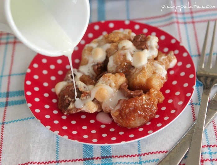 Image of Rolo S'mores Skillet Monkey Bread