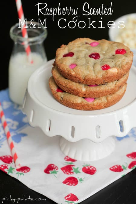 Best Chocolate Scented Flowers: Raspberry Scented M&M Cookies