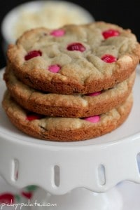 Raspberry Scented Chocolate Chip M&M Cookies 5