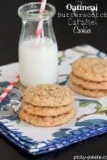 Oatmeal Butterscotch Caramel Cookies