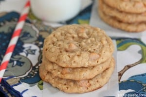 Butterscotch Oatmeal Caramel Cookies 2