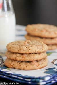 Butterscotch Oatmeal Caramel Cookies 3