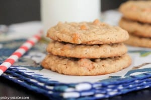 Butterscotch Oatmeal Caramel Cookies 4