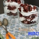 Simple Cool Whip Cake Trifles