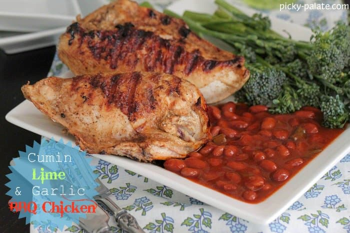 Cumin, Lime and Garlic Grilled Chicken - Picky Palate