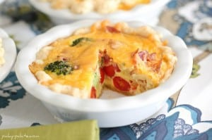 Mini Broccoli, Cheddar and Bacon Quiche 7