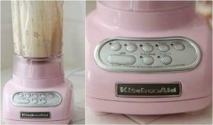 Pink KitchenAid Blender