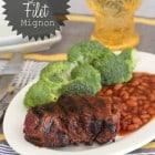 Grilled Smoky Sweet Filet Mignon
