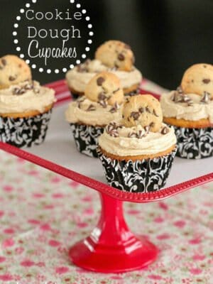 Image of Cookie Dough Cupcakes