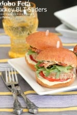 Image of Adobo Feta Turkey BLT Sliders