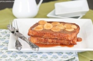 Peanut Butter Banana Foster French Toast 3