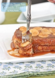 Peanut Butter Banana Foster French Toast 5 text