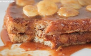 Peanut Butter Banana Foster French Toast 6