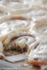 Perfect Cinnamon Rolls...according to Picky Palate :)