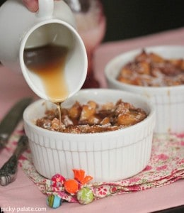 Apples and Spice Cinnamon Bread Pudding 6