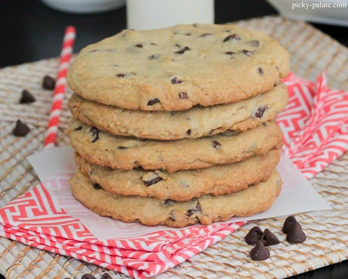 Bakery Style XXL Chocolate Chip Cookies - Picky Palate