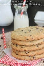 Bakery Style XXL Chocolate Chip Cookies