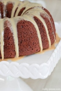 Chocolate Peanut Butter Bundt Cake 7