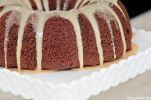 Chocolate Peanut Butter Bundt Cake 8
