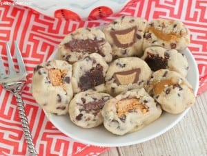 No Bake Stuffed Cookie Dough Bites 7