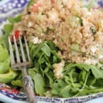 Image of Quinoa Tabbouleh Arugula Salad