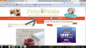 Screen Shot of Picky Palate