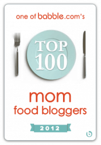 Top 100 Food Blogs Badge
