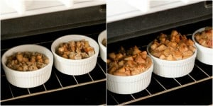 baking bread pudding