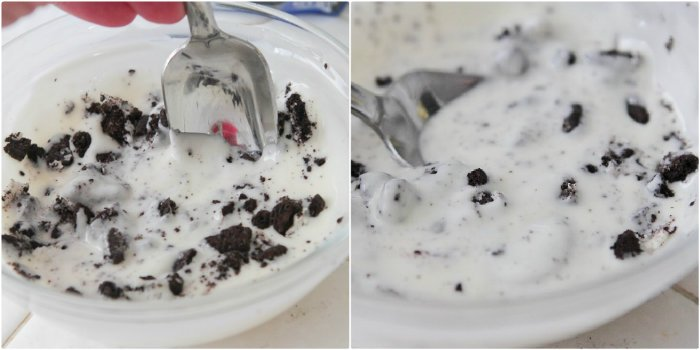 Homemade Cookies and Cream Magic Shell - Picky Palate