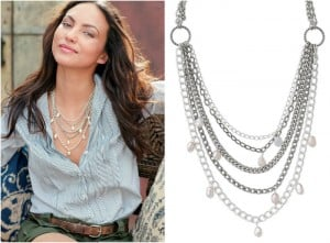 Avery Chain and Pearl Necklace