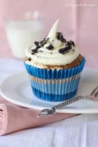Fluffer-Oreo Cupcakes