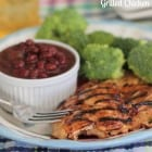 Garlic Peach Grilled Chicken