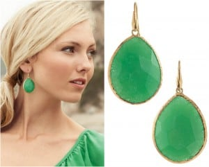 Jade Drop Earrings